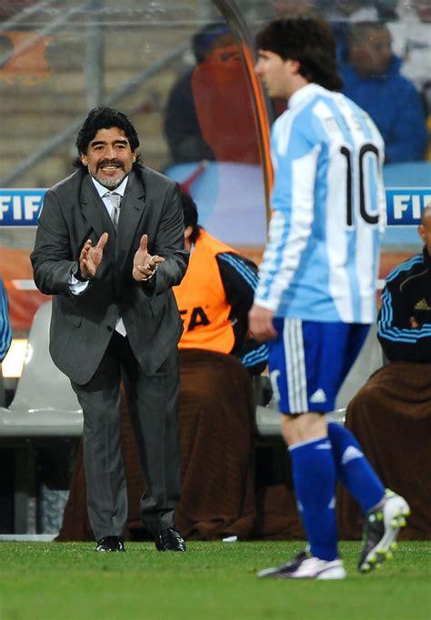 diego maradona lionel messi  argentina  mexico
