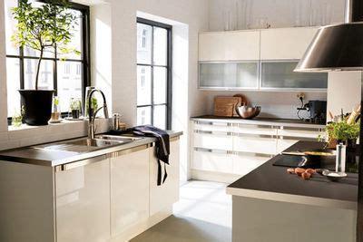 meuble cuisine ikea blanc laqué cuisine en image