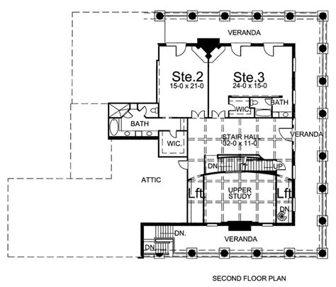 spectacular 2nd floor plans houmas house 7976 4 bedrooms and 4 baths the house