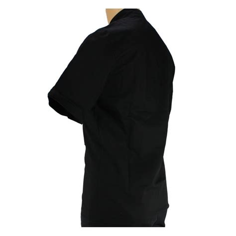 veste de cuisine homme veste de cuisine noir légère à manche courte homme lisavet