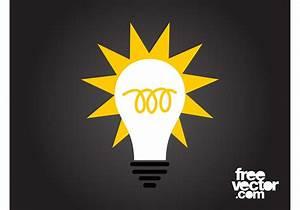 Led Light Bulb Symbol Good Idea Icon Download Free Vector Art Stock Graphics