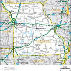 Missouri Road Map
