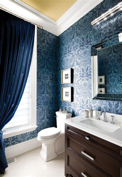 wallpaper bathroom designs gorgeous wallpaper ideas for your modern bathroom