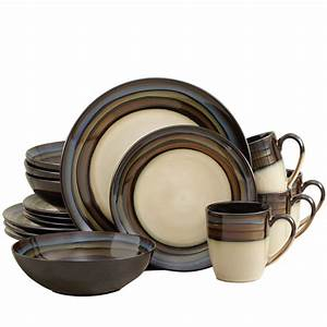 Blue 32 Piece Dinnerware Set Pfaltzgraff Square Dinnerware Sets For 8 People