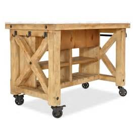 portable islands for the kitchen pottery barn kitchen island kitchen ideas