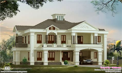 luxury home plans 4 bedroom luxury home design kerala home design and