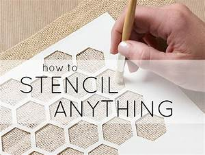 learn how to stencil and stenciling tips With how do you stencil letters on wood