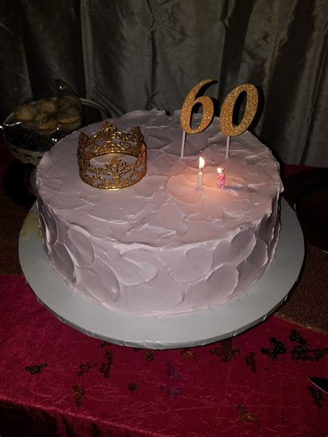 Find a 60th birthday cakes 60th birthday gift ideas for mom 60th birthday ideas for women from red ribbon birthday gift ideas golf birthday tag line or for mom. Mom's 60th birthday cake | 60th birthday cakes, Cake, Mom 60th