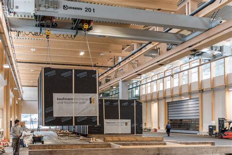 Holzbau Raummodule by Neue Montagehalle Kaufmann Zimmerei Tischlerei