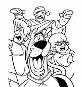 Scooby Doo Coloring Pages Printable Scoobydoo sketch template