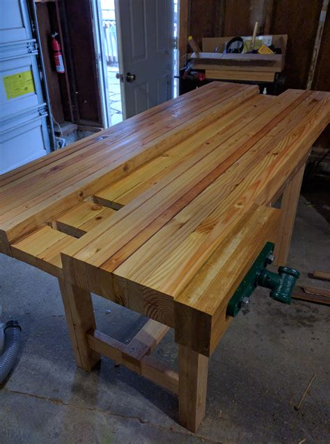 woodworking workbench build jeff graham