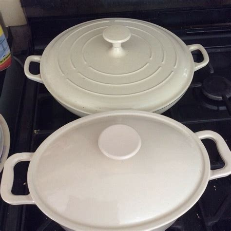 bakeware iron cast lids dishes ended ad