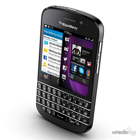 blackberry 10 smartphone blackberry q10 compare prices plans deals whistleout