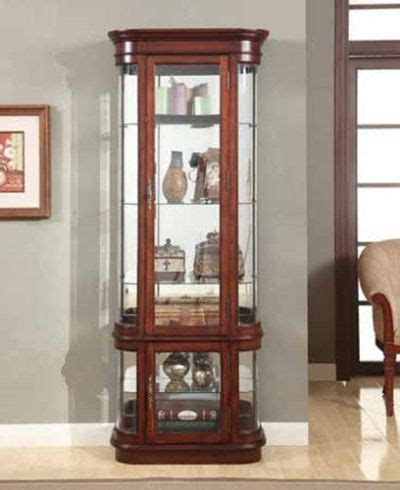 cherry wood curio cabinet vintage curio cabinets basic types to choose the best