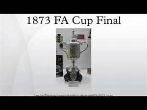 1873 FA Cup Final - YouTube