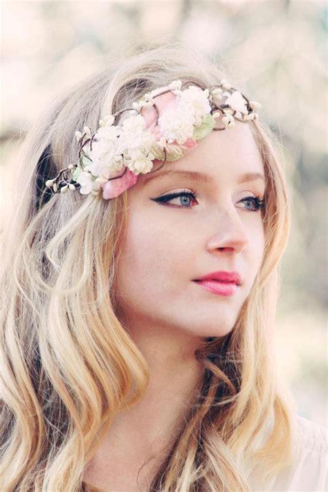 bridal flower crown wedding hair accessories wedding