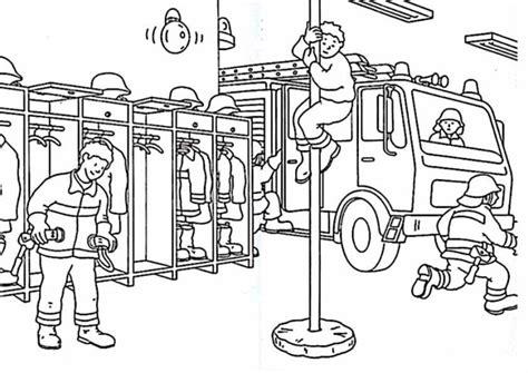 jeux de fille jeux de cuisine coloriage caserne de pompier à imprimer