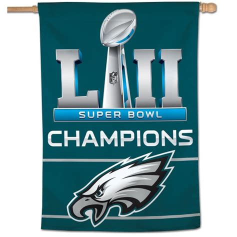 philadelphia eagles  super bowl  lii house flag