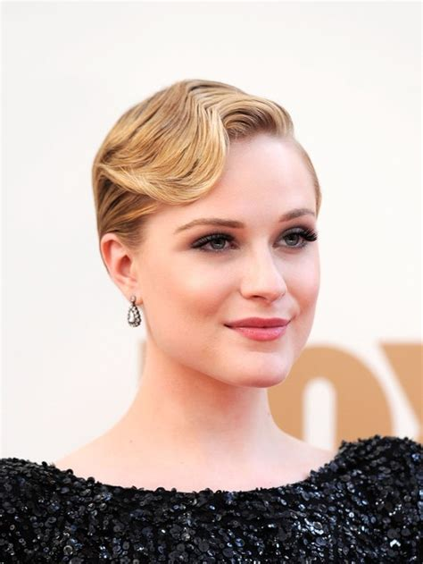 celebrity finger wave hairstyle  prom hairstyles weekly