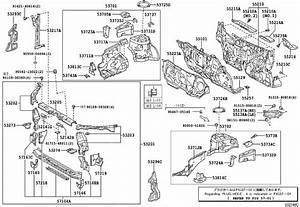 Toyota Corolla Firewall Insulator  Body  Dash  Interior