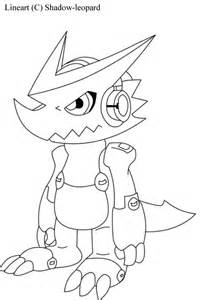 Digimon Shoutmon Coloring Pages
