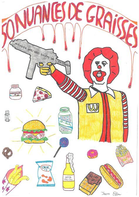 cours de cuisine 15 concours d 39 affiches quot agir contre la malbouffe quot lycée