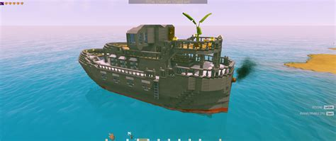 Small Boat Ylands by Superyacht Community Creations Ylands