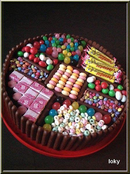 gateau aux bonbons candy cake gateauxenfants