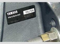 The Outboard Expert BornOn Date Replaces Model Year