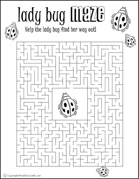 printable maze puzzles  adults  printable summer