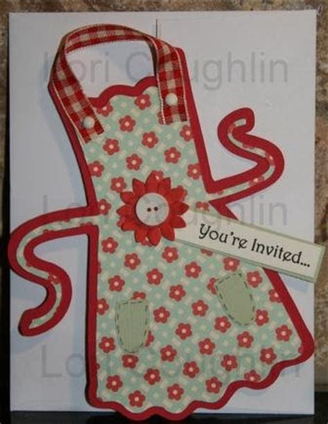 organized chaos pampered chef apron invitation