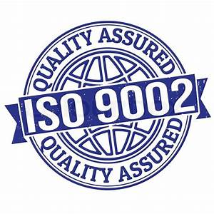 Iso 9001 Certified Grunge Rubber Stamp On White  Vector
