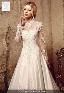 Robe Mariée 2016 : robe de mari e 2016 philippe apat 2017 mariage ~ Farleysfitness.com Idées de Décoration