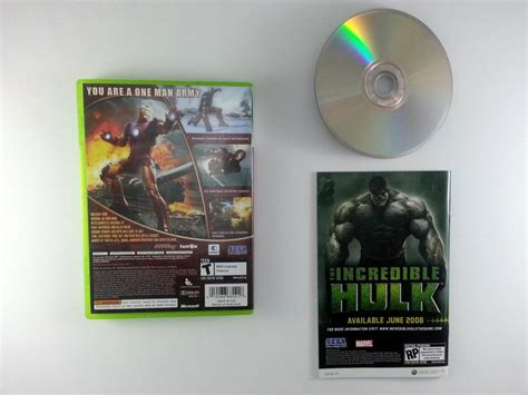 Iron Man Game For Xbox 360 Complete The Game Guy