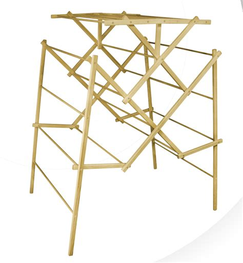 clothes drying racks mega size portable wooden clothes drying rack