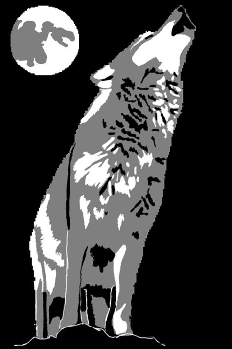 Best Wolf Stencil Ideas And Images On Bing Find What You Ll Love