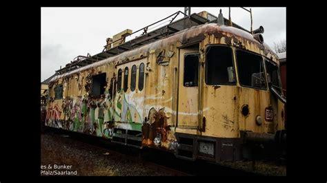 Lost Places & Bunker: Verlassene Züge l Zugbahnhof l Urban ...