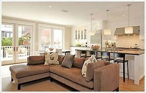 kitchen family room layouts home design With kitchen and family room design