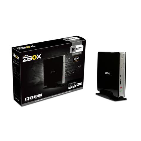 pc bureau avec ssd zotac zbox bi322 avec windows 10 home pc de bureau zotac sur ldlc com