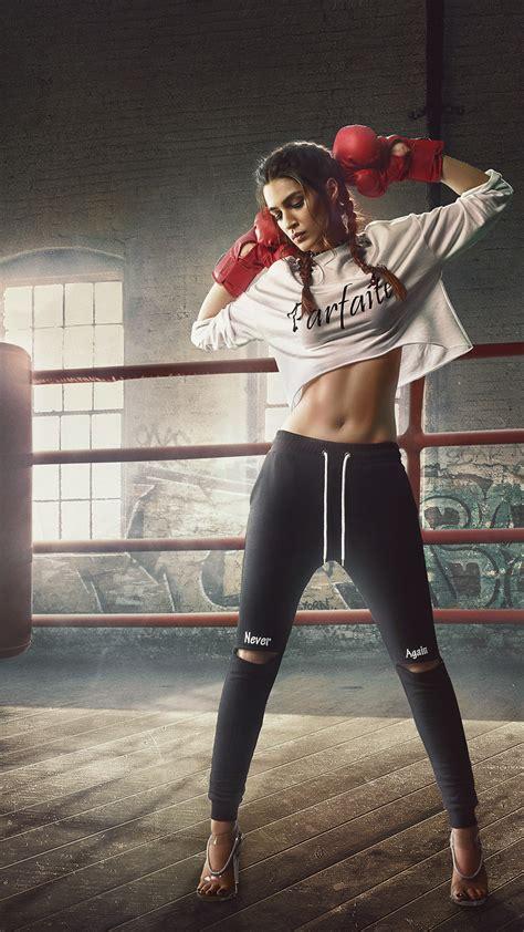 wallpaper kriti sanon model boxer boxing hd
