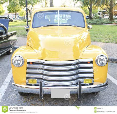 vieux camion de chevrolet image stock image du americain