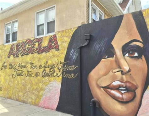 Big Ang Mural Location by A Tribute Mural Memorializing Big Ang Is Unveiled On