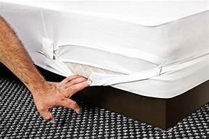 The original sleep defense system premium zippered bed for Bed bug mattress encasement reviews