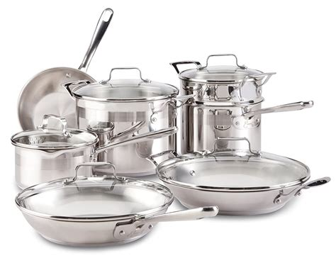 stainless steel cookware reviews buying guide