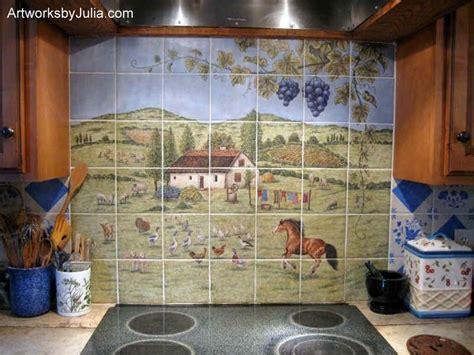 51 best painted tiles tile murals decorative tiles