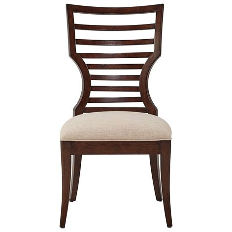 chaise virage stanley furniture virage 696 11 60 wood side chair with