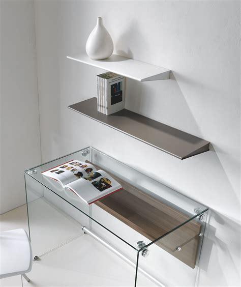 Mensole Design Moderno by Mensola Design Moderno In Acciaio 60 Cm O 90 Cm Ala