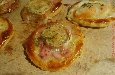 petit four pate feuillete croustade feuillet 233 e fromage et bacon ma cuisine du placard