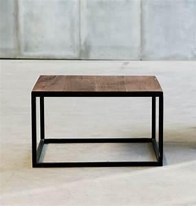 Holztisch Mit Metallgestell : tisch mit metallgestell heerenhuis mesa ~ Lateststills.com Haus und Dekorationen