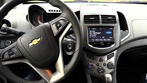 2016 Chevy Sonic Dashboard Look